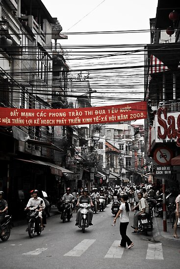 Old Quarter (Ha Noi, Viet Nam) by Matthew Stewart