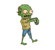 Zombie Cartoon by AmazingMart