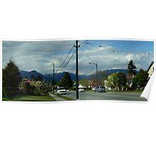 suburban view Poster