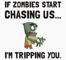 Zombies Chase Us Tripping Kids Clothes