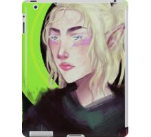 Elf lady iPad Case/Skin