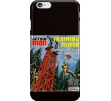 Action Man training tower iPhone Case/Skin