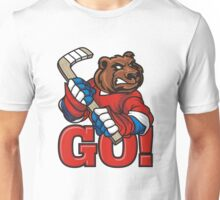 Hockey. Go! Unisex T-Shirt