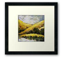 """Autumn Hills"" Framed Print"