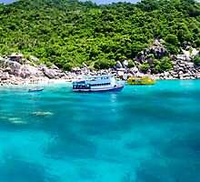 Koh Tao Blue by MiImages