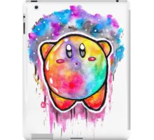 Cute Galaxy KIRBY - Watercolor Painting - Nintendo iPad Case/Skin