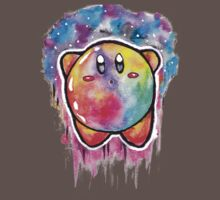 Cute Galaxy KIRBY - Watercolor Painting - Nintendo Kids Clothes