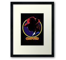 Carter Framed Print