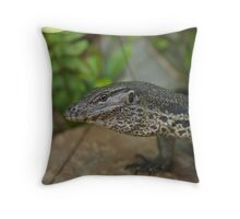 Varanus Salvator Throw Pillow