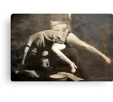 Some weight... Metal Print