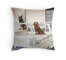 Builders we are Throw Pillow