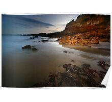 Anglesea Cliffs Poster