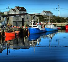 Morning in Peggy's Cove by kenmo