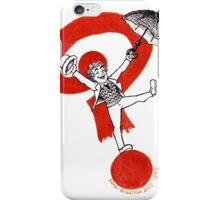 Doctor 7 on a ? iPhone Case/Skin