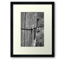 Wrapped Wire Framed Print
