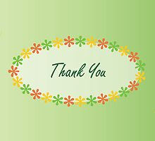 Thank You card by Emma Coughlan