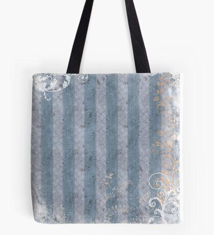 Blueberry Stripes Tote Bag