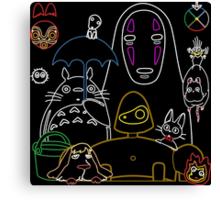 Ghibli mix v2 Canvas Print