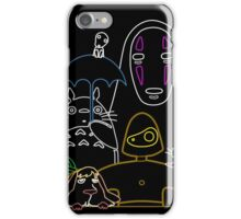 Ghibli mix v2 iPhone Case/Skin