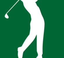 1945 Golfer's Birthday Sticker