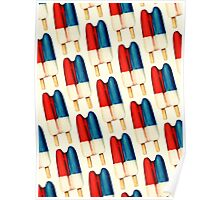Double Popsicle Pattern Poster