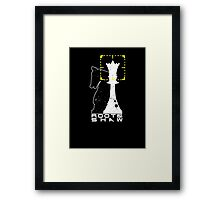 The Queen & Her Knight Framed Print