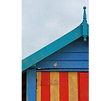 Beach Hut No. 4, Mornington Photographic Print