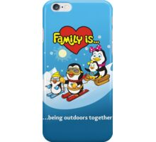 FAMILY IS... iPhone Case/Skin