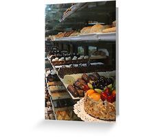 Acland Street Sweets, St Kilda Greeting Card
