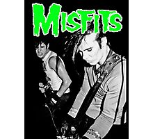 THE MISFITS Live 1982 T-Shirt Photographic Print
