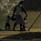 Walking home at dusk by Nadia Korths