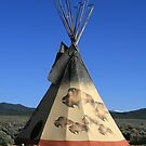 Buffalo Run Teepee by Patricia Montgomery