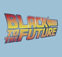 McSuperfly Special (Black to the Future) v2 Kids Clothes
