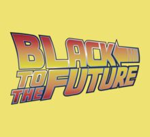McSuperfly Special (Black to the Future) v2 Kids Tee