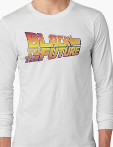 McSuperfly Special (Black to the Future) v2 Long Sleeve T-Shirt