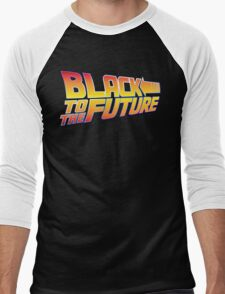 McSuperfly Special (Black to the Future) v2 Men's Baseball ¾ T-Shirt