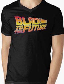 McSuperfly Special (Black to the Future) v2 Mens V-Neck T-Shirt