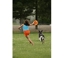 Joyous Play Photographic Print