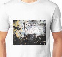 Wet Window on a Stomy Sunset Unisex T-Shirt