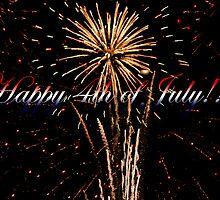 Happy 4th of July  by Ella Hall