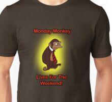 I Hate Mondays Monkey  Unisex T-Shirt