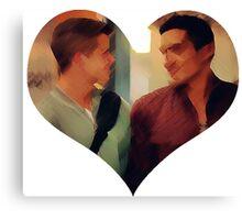 Dethan's Heart Canvas Print
