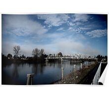 South Skagit Valley Bridge Poster