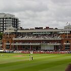 Lords Pavillion by Richard Elston