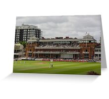 Lords Pavillion Greeting Card