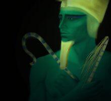 Osiris. Egyptian God of the Dead by Dawnsky2