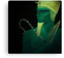 Osiris. Egyptian God of the Dead Canvas Print