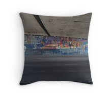 More freeway art Throw Pillow