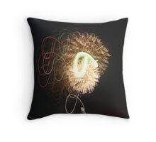 The Art of Fire Throw Pillow