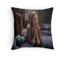 Banshee [Sleeping Beauty] Throw Pillow